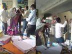 निगेटिव पेशेंट को पॉजिटिव बताने का आरोप, नाराज परिजनों ने डॉक्टर को चप्पल से पीटा|महाराष्ट्र,Maharashtra - Dainik Bhaskar