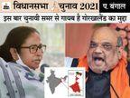 यहां दीदी गोरखा जनमुक्ति मोर्चा के भरोसे; पर इनकी आपसी लड़ाई का फायदा BJP को, 2017 गोलीकांड को लेकर TMC से नाराजगी भी है|पश्चिम बंगाल,West Bengal - Dainik Bhaskar