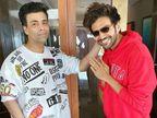 कार्तिक आर्यन पर आरोप- जाह्नवी कपूर के साथ ईगो क्लैश और डेट्स न देने से धर्मा को 20 करोड़ का नुकसान, फिल्म होगी रीशूट|बॉलीवुड,Bollywood - Dainik Bhaskar