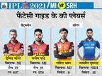 टॉप ऑर्डर में वॉर्नर और मनीष पांडे दिला सकते हैं ज्यादा पॉइंट, चेन्नई के टर्निंग ट्रैक पर राशिद और चाहर भी दिखा सकते हैं कमाल|IPL 2021,IPL 2021 - Dainik Bhaskar
