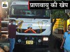 गुजरात के जामनगर से 30 टन ऑक्सीजन लेकर पहुंचा पहला टैंकर, अंबानी ने अलग से इंदौर को ऑक्सीजन देने के लिए कहा था इंदौर,Indore - Dainik Bhaskar