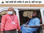 कोरोना वार्ड में भर्ती 1 जिंदा जला, 4 की दम घुटने से मौत, अस्पताल में नहीं थे आग बुझाने के कोई उपाए और इमरजेंसी एग्जिट|रायपुर,Raipur - Dainik Bhaskar