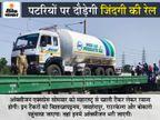 कोरोना मरीजों के लिए देशभर में ट्रेनों से ऑक्सीजन भेजी जाएगी, सरकार इंटस्ट्रीज की ऑक्सीजन भी अस्पतालों को देगी|देश,National - Dainik Bhaskar