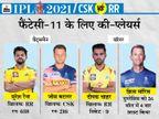 रैना और जडेजा का राजस्थान के खिलाफ शानदार रिकॉर्ड; बटलर और सीजन में इकलौता शतक लगाने वाले सैमसन दिला सकते हैं ज्यादा पॉइंट|IPL 2021,IPL 2021 - Dainik Bhaskar