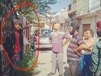 लोगों ने एक को रंगेहाथ पकड़ा, लेकिन पुलिस कंट्रोल रूम में सूचना देने के 2 घंटे बाद आई पुलिस|जालंधर,Jalandhar - Dainik Bhaskar
