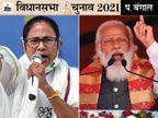 30% मुस्लिम वोटर्स TMC के साथ; लेकिन ममता को सबक सिखाने के लिए CPM कैडर BJP से मिला|चुनाव 2021,Election 2021 - Dainik Bhaskar