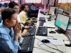 सेंसेक्स 243 पॉइंट फिसलकर 47,700 पर बंद; निफ्टी भी 14,300 के नीचे आया, IT शेयरों ने बनाया दबाव बिजनेस,Business - Dainik Bhaskar