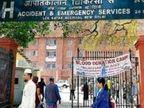 आईसीयू, वेंटिलेटर के लिए भटक रहे मरीज; वेटिंग 500 तक पहुंची| - Dainik Bhaskar