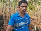 बीजापुर में कांस्टेबल ने पत्नी का गला घोंटकर जंगल में फेंका शव, फिर मोहल्ले में आकर तलाश कर रहा था, दो दिन बाद पकड़ा गया|छत्तीसगढ़,Chhattisgarh - Dainik Bhaskar