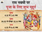 5 ग्रहों का शुभ योग और पूजा के 3 मुहूर्त, कोरोना और लॉकडाउन के चलते घर पर ही 10 आसान स्टेप्स में करें भगवान राम की पूजा|धर्म,Dharm - Dainik Bhaskar