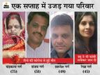 सास, जेठ, पति की कोरोना से मौत पर महिला ने फांसी लगा जान दी; देवास अग्रवाल समाज अध्यक्ष के परिवार पर टूटा कहर देवास,Dewas - Dainik Bhaskar
