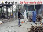 अस्पताल में पिता भी जिंदगी-मौत से जूझ रहे, उधर 7 दिन में दो भाइयों की मौत से परिवार में कोहराम; 1 दिन में 79 चिताओं की दर्दभरी दास्तां जबलपुर,Jabalpur - Dainik Bhaskar