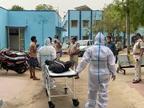 भिंड में कोरोना पॉजिटिव से निगेटिव हुए मरीज को कटे-फटे मास्क व पाइप से दिया ऑक्सीजन, मौत के बाद परिवार ने किया हंगामा|भिंड,Bhind - Dainik Bhaskar