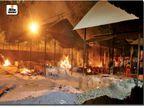 ग्वालियर में अंतिम संस्कार के लिए पांच घंटे वेटिंग, ब्यावरा में ताले में बंद की लकड़ियां|भोपाल,Bhopal - Dainik Bhaskar
