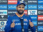 स्लो ओवर रेट के लिए मुंबई इंडियंस के कप्तान पर 12 लाख का जुर्माना; कोड ऑफ कंडक्ट का दोषी पाया गया|IPL 2021,IPL 2021 - Dainik Bhaskar