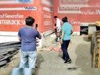 जिला पंचायत के मनरेगा में काम करने के आदेश लेकिन गिट्टी, भसुआ और सीमेंट की दुकानें ही बंद|गुना,Guna - Dainik Bhaskar