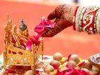 शुक्रवार और एकादशी का योग आज, दक्षिणावर्ती शंख से करें विष्णु-लक्ष्मी और बाल गोपाल का अभिषेक|धर्म,Dharm - Dainik Bhaskar