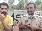 जालंधर में नशे में धुत हवलदार ने साथी संग झुग्गी वाले का मोबाइल व 200 रुपए छीने, बोला- MLA और बाकी पुलिस वाले भी करते हैं नशा|जालंधर,Jalandhar - Dainik Bhaskar
