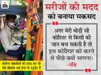 रांची के रवि संक्रमितों को फ्री में हॉस्पिटल पहुंचाते हैं, 7 दिन में 18 लोगों की मदद की|रांची,Ranchi - Dainik Bhaskar