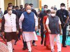 गुजरात के डिप्टी सीएम नितिन पटेल हुए कोरोना पॉजिटिव, आज ही अमित शाह के साथ उद्घाटन कार्यक्रम में हुए थे शामिल|गुजरात,Gujarat - Dainik Bhaskar