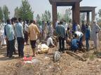 पिता-पुत्र समेत चार की मौत, परिजन बोले- प्रत्याशियों ने बांटी थी शराब, पुलिस बोली- जांच के बाद पता चलेगी मौत की वजह|मेरठ,Meerut - Dainik Bhaskar