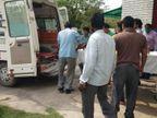 पंचायत चुनाव की रंजिश में युवक को मारी गोली, हालत गंभीर, फरार हमलावरों की तलाश में जुटी पुलिस, गांव में तनाव प्रयागराज,Prayagraj - Dainik Bhaskar