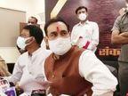सोनिया, राहुल और दिग्विजय... किसी ने वैक्सीन नहीं लगवाई, बस विरोध कर रहे; शहीद जवान के परिवार को मिलेगी 50 लाख की मदद|इंदौर,Indore - Dainik Bhaskar
