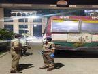 चंदौली से पंचायत चुनाव की ड्यूटी कर लौट रहे सिपाही की मौत, खुद के रायफल से अचानक हुआ था फायर|वाराणसी,Varanasi - Dainik Bhaskar