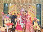 धर्मशाला के विधायक, दुल्हन भी एचएएस अधिकारी, दोनों ही शादी में नियमों को भूले शिमला,Shimla - Dainik Bhaskar