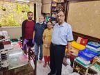 अपने किचन से होम क्वारैंटाइन मरीजों का पेट भर रहे मुंबई के ये दानवीर, हर दिन 200-200 लोगों तक पहुंचा रहे खाना मुंबई,Mumbai - Dainik Bhaskar