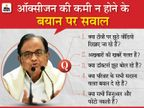 चिदंबरम बोले- सरकार समझती है कि देश के सभी लोग मूर्ख हैं, लोगों को ऐसी सरकार के खिलाफ विद्रोह कर देना चाहिए|देश,National - Dainik Bhaskar