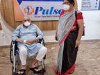 80 साल के पिता और 70 साल की मां 8 दिन में कोरोना को मात देकर अस्पताल से हुए डिस्चार्ज रांची,Ranchi - Dainik Bhaskar