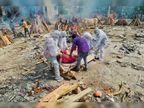 दिल्ली में 24 घंटे में कोरोना से मौत के बाद 702 शवों का किया गया अंतिम संस्कार|दिल्ली + एनसीआर,Delhi + NCR - Dainik Bhaskar