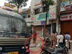 सूरत में प्राइवेट अस्पताल ने कोरोना मरीज का शव सड़क पर फिंकवा दिया, बेटा खोने वाले पिता ने बिलखते हुए कहा - 'बिल नहीं भर पाया था' गुजरात,Gujarat - Dainik Bhaskar