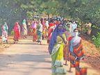 डोंगरकट्टा में वैक्सीनेशन टीम को घुसने नहीं दिया, बैरंग लौटी; आज मेडिकल टीम बुखार से पीड़ितों का करेगी स्वास्थ्य परीक्षण|भानुप्रतापपुर,Bhanupratap pur - Dainik Bhaskar
