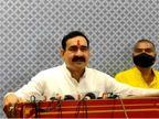 गृहमंत्री नरोत्तम मिश्रा ने अपनों पर साधा निशाना; बोले- अपने जयचंदों के कारण दमोह में हम हारे, कांग्रेस तो देश में साफ हो गई|मध्य प्रदेश,Madhya Pradesh - Dainik Bhaskar