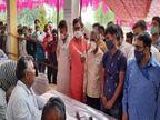 हारने लगे चुनाव तो सपा समर्थित प्रत्याशी से भिड़े; दी गालियां, सोशल मीडिया पर वीडियो वायरल|लखनऊ,Lucknow - Dainik Bhaskar