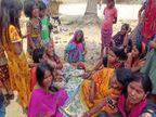 मछली मारने के विवाद को लेकर लड़ रहे थे दो पक्ष; बीच-बचाव करने गए अधेड़ को मारी गोली, विरोध में हंगामा|नालंदा,Nalanda - Dainik Bhaskar
