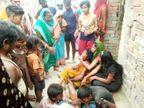 10 फीट गहरे चंवर में नहाने थे गए पांचों, डूबते वक्त मचाया शोर; लोगों के पहुंचने से पहले मौत से हारी जंग|बेगूसराय,Begusarai - Dainik Bhaskar