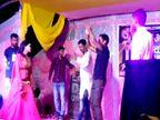 लखीसराय में प्रशासन की नाक के नीचे कोविड प्रोटोकॉल टूटा, रात भर अश्लील गानों पर झूमता रहा चौकीदार|लखीसराय,Lakhisarai - Dainik Bhaskar