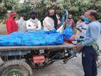 मायागंज अस्पताल में शव ले जाने के लिए एंबुलेंस नहीं मिला तो मोटर लगे ठेला गाड़ी से परिजन ले गए घर|भागलपुर,Bhagalpur - Dainik Bhaskar