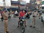 कोरोना गाइडलाइन का उल्लंघन करने पर 352 को अस्थाई जेल पहुंचाया, 82 दुकानदारों के खिलाफ एफआईआर|जबलपुर,Jabalpur - Dainik Bhaskar