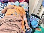 ऑक्सीजन वैन के लिए 35 कॉल, जांच के बाद 9 लोगों को लगाने की जरूरत पड़ी|रायपुर,Raipur - Dainik Bhaskar