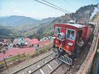 वर्ल्ड हेरिटेज ट्रैक पर चल रही है सिर्फ रेल माेटर कार, एक हफ्ते से दाे ट्रेनें बंद, कालका-शिमला ट्रैक पर नहीं मिल रहे हैं यात्री|शिमला,Shimla - Dainik Bhaskar