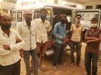 बिजली गिरने से राजमिस्त्री की मौत, खाळे का लेवल लेने के दौरान हुआ हादसा|श्रीगंंगानगर,Sriganganagar - Dainik Bhaskar
