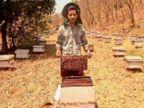 इम्यूनिटी बढ़ाने के लिए शहद की मांग बढ़ी; एक शख्स ने 6 महीने में बेचा 3.5 टन हनी, 50 बॉक्स के साथ मधुमक्खी पालन शुरू किया, अब 180 हो गए|हिमाचल,Himachal - Dainik Bhaskar