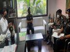 आर्मी मेडिकल कोर टीम पहुंची फरीदाबाद, छायंसा मेडिकल कॉलेज का किया दौरा|फरीदाबाद,Faridabad - Dainik Bhaskar