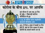 कोरोना के चलते टूर्नामेंट के बाकी मैच रद्द करने की मांग, पिटीशनर ने कहा- पब्लिक हेल्थ क्रिकेट से ज्यादा जरूरी|IPL 2021,IPL 2021 - Dainik Bhaskar