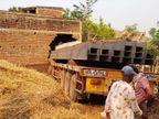 अनियंत्रित ट्रेलर बाइक को टक्कर मारते हुए घुसा खाली घर में, ड्राइवर-खलासी समेत तीन की हुई मौत; केबिन में फंसा शव झारखंड,Jharkhand - Dainik Bhaskar