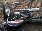 कार की टक्कर से बाइक सवार दो युवकों की मौत, स्विफ्ट डिजायर को छोड़ भागेदो लोग|झारखंड,Jharkhand - Dainik Bhaskar